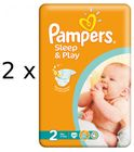 Pampers Sleep&Play Economy 2 Mini - 2 x 68 ks