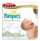 Pampers Plienky PremiumCare 2 Mini - 90 ks