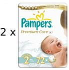 Pampers plienky PremiumCare 2 Mini - 144 ks