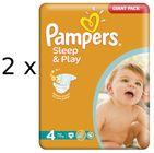 Pampers Sleep&Play 4 Maxi - 172ks + Poukaz na zľavu 1 € na ďalší nákup balenia plienok Pampers nad 25 €.