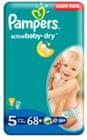 Pampers Active Baby Junior (5), 68 szt