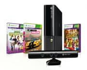 Microsoft XBOX 360 Kinect Bundle 500GB (Stingray design) + Forza Horizon + Kinect Sports + Kinect Adventures