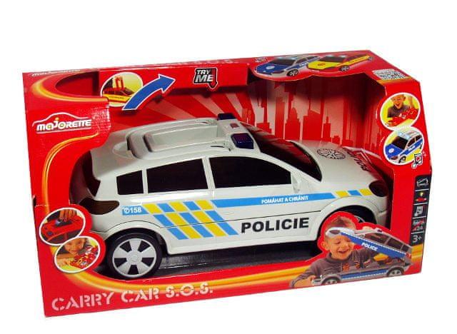 Dickie Kufřík Auto Policie na 24 autíček
