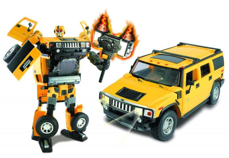 Happy Well Road Bot Hummer H2 1:18, zvuk + světlo