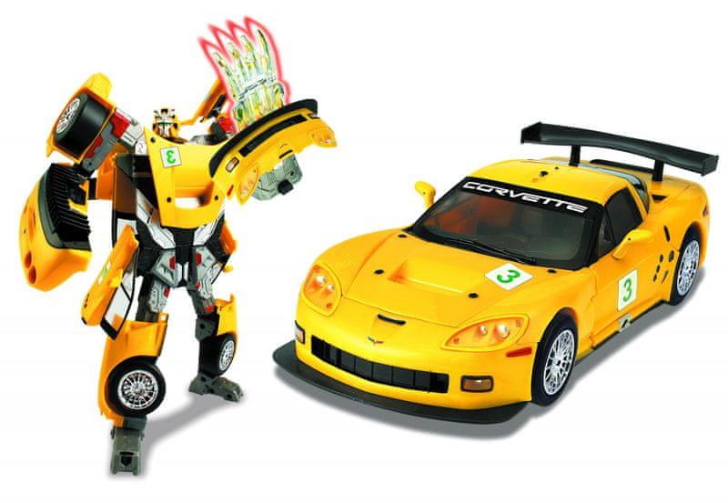 Happy Well Road Bot Chevrolet Corvette 1:18