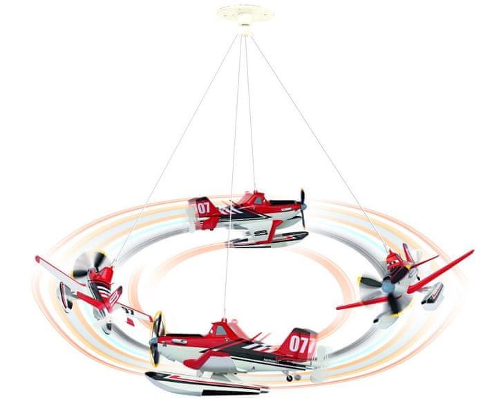Dickie Disney Planes závěsné letadlo na strop Práš