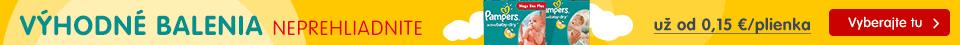 SK Výhodné balenia Pampers Active Baby