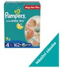 Pampers Active Baby MegaBox Plus 4 Maxi - 162 ks