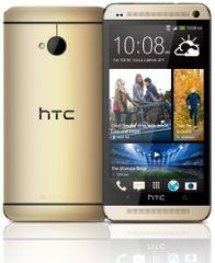 HTC One (M7) 32 GB, zlatý