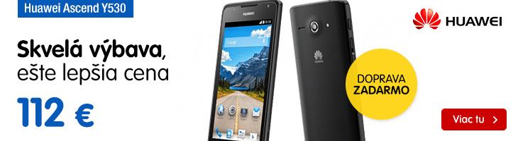 Huawei Ascend Y530, čierny