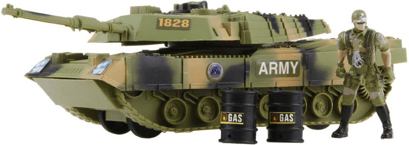 Alltoys Tank vojenský s doplňky