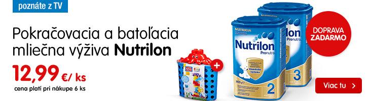 Nutrilon – poznáte z TV