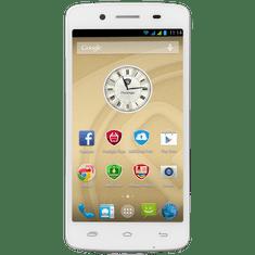 Prestigio MultiPhone 5507 DUO, bílý