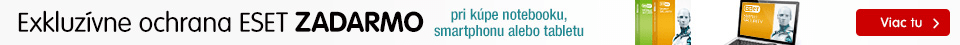 SK Antivírus ESET zadarmo k smartphonom, tabletom a notebookom!