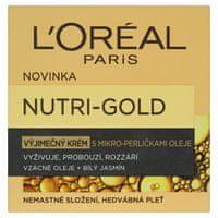 L'Oréal Nutri-Gold VVýnimočný krém s mikro-perličkami oleja 50ml