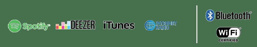 internetes rádió Spotify és Deezer