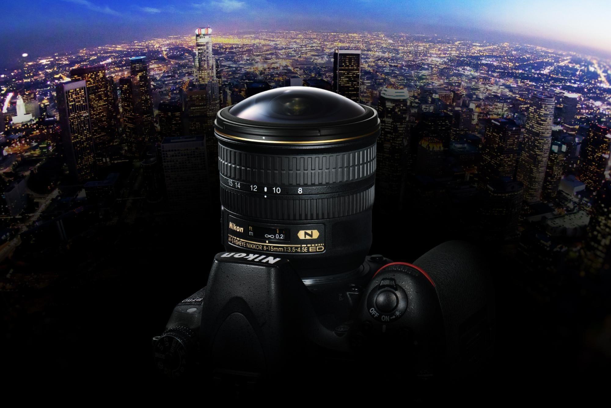Nikon AF-S FISHEYE NIKKOR 8–15 mm f/3,5–4,5E ED