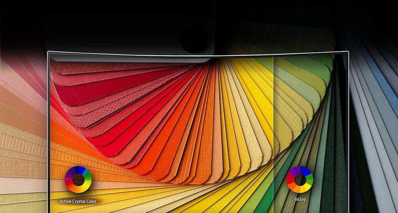 Vyšší úroveň barevného zobrazení.