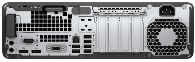 Konfigurovatelný vstupní/výstupní port pro monitory.