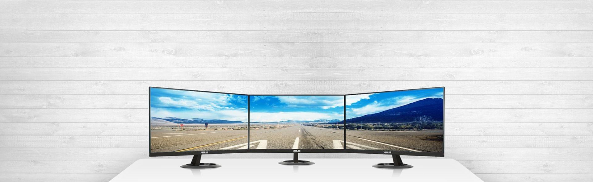Ideální pro konfigurace s více monitory