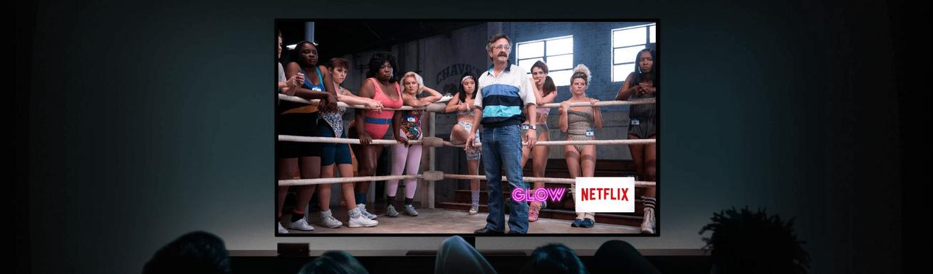 aplikace Netflix, MUBI, iTunes
