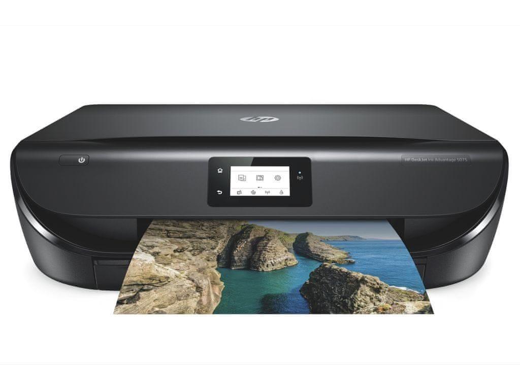 Tiskárna HP DeskJet Ink Advantage 5075 All-in-One