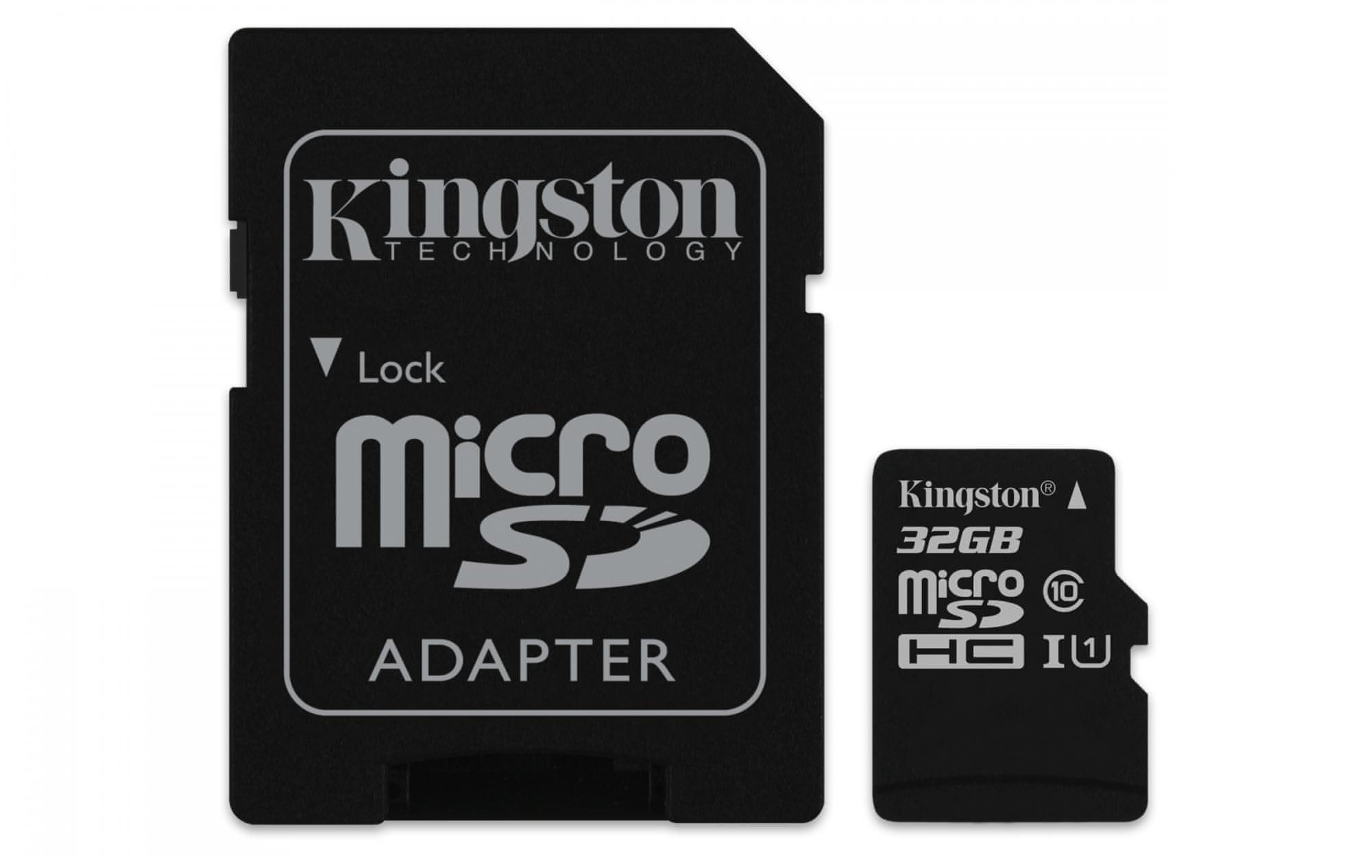 kingston 16 gb microsdhc 45 mbs gen2