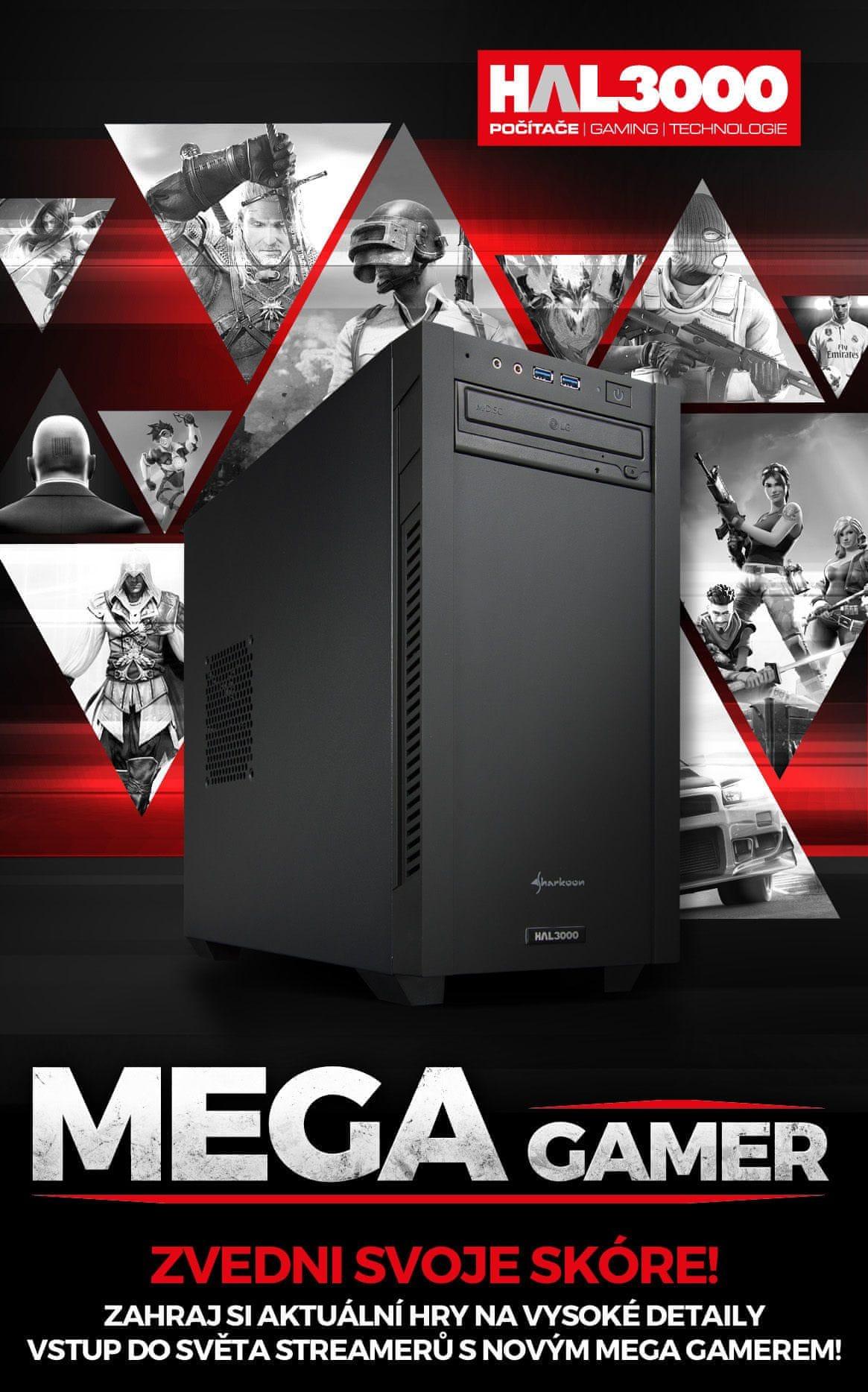 HAL3000 Herní sestava MEGA GAMER