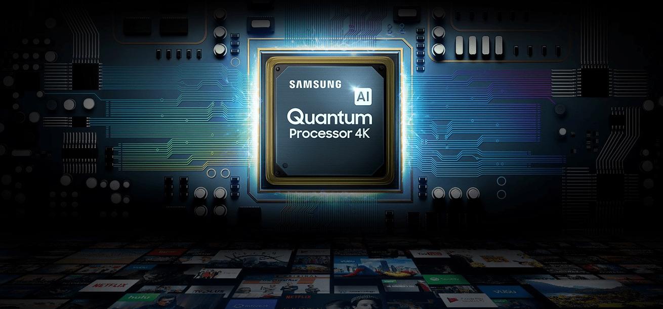 samsung tv televízió qled 2019 quantum 4k a processzor összeolvad a környezettel q90r fantasztikus színek direct full array 16x