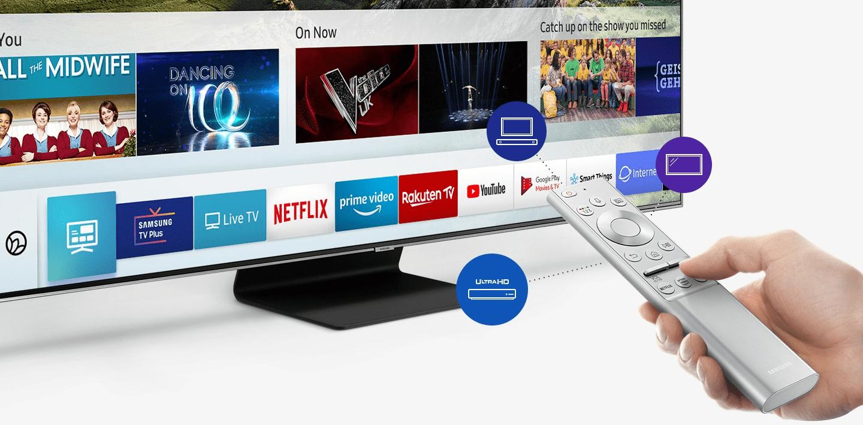 samsung tv televize qled 2019 quantum 4k procesor splyne s okolím q90r fantastické barvy direct full array 16x rámeček splyne s okolím