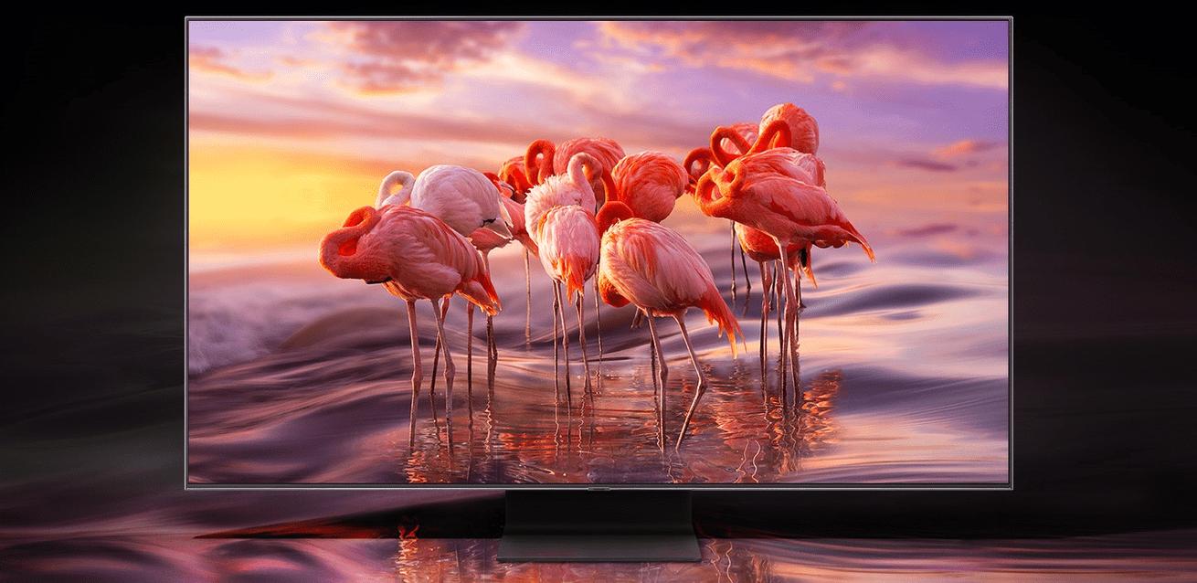 samsung tv televízió qled 2019 quantum 4k a processzor összeolvad a környezettel q90r fantasztikus színek
