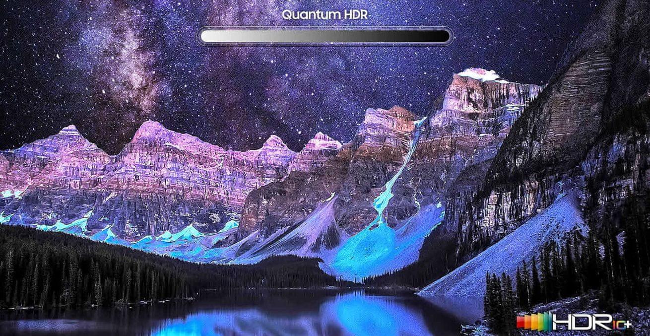 samsung tv sprejemnik qled 2019 quantum dot s 100% prostornino barv q80r in s fantastično barvito sliko hdr 12x quantum