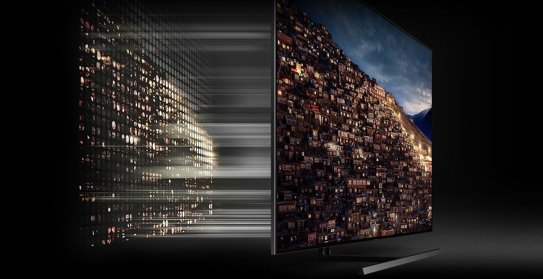 samsung tv televize qled 2019 quantum dot 100% objem barev q85r fantastické barvy dokonalost obrazu full array 8x