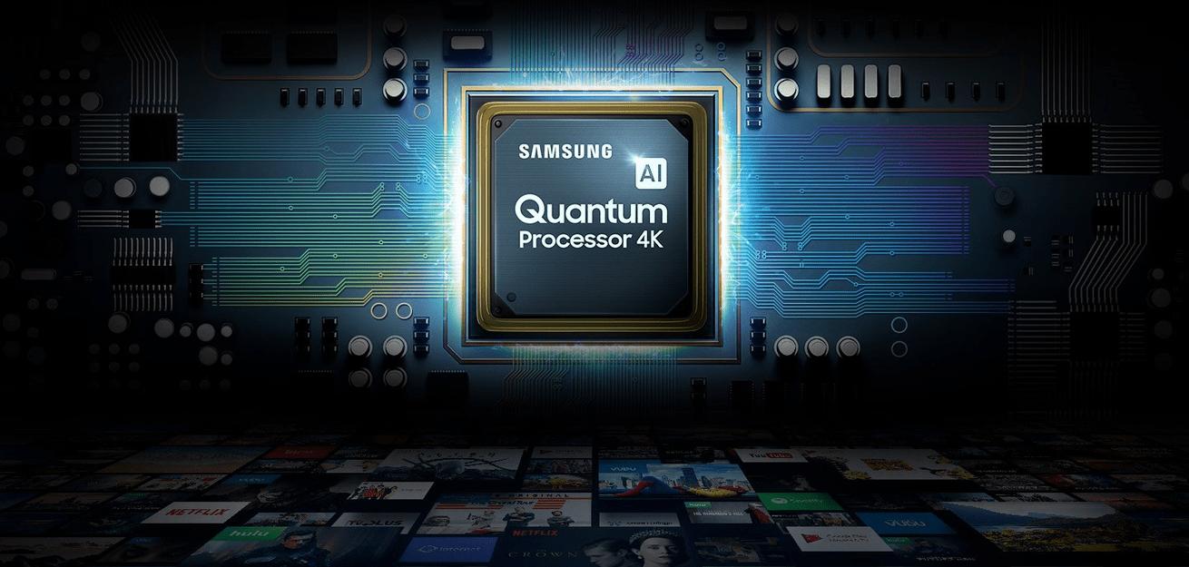 samsung tv sprejemnik qled 2019 quantum dot s 100% prostornino barv q80r in s fantastično barvito sliko quantum 4k upscaling z umetno inteligenco