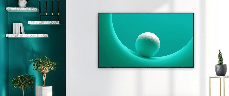 samsung tv televize qled 2019 quantum dot 100% objem barev q60r fantastické barvy dokonalost obrazu rámeček qled nenápadný
