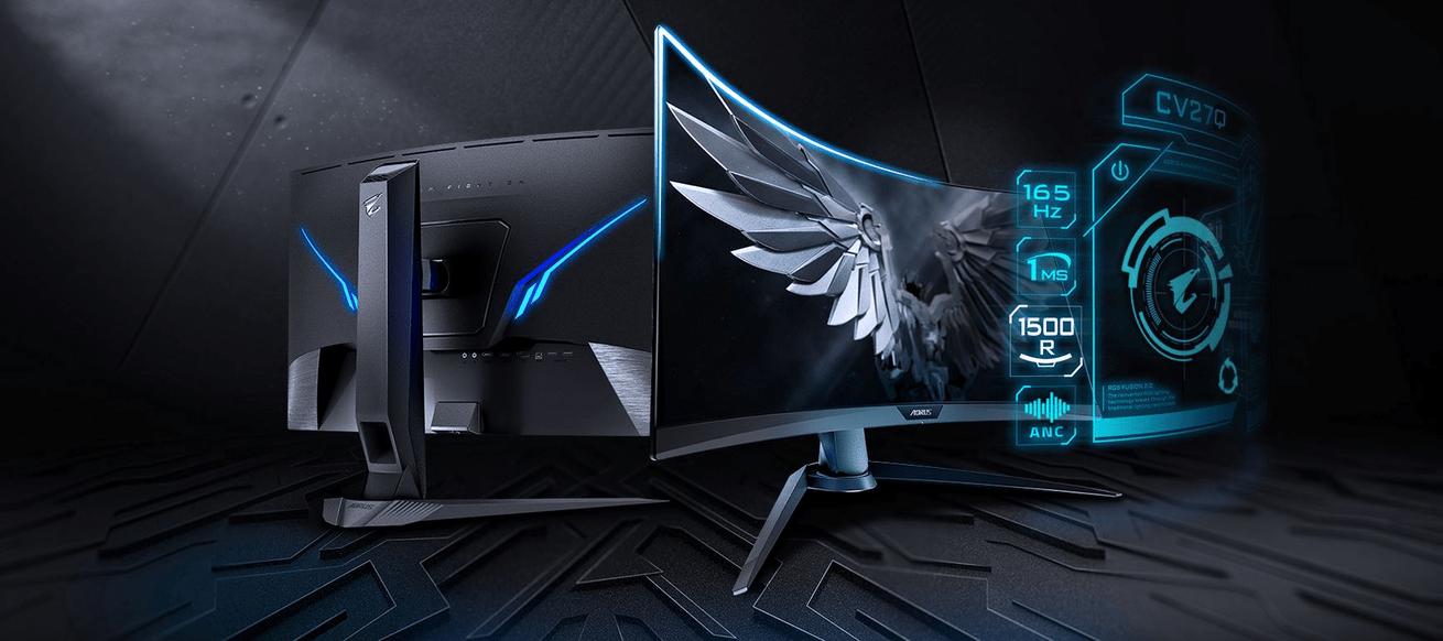 Gaming monitor AORUS CV27Q