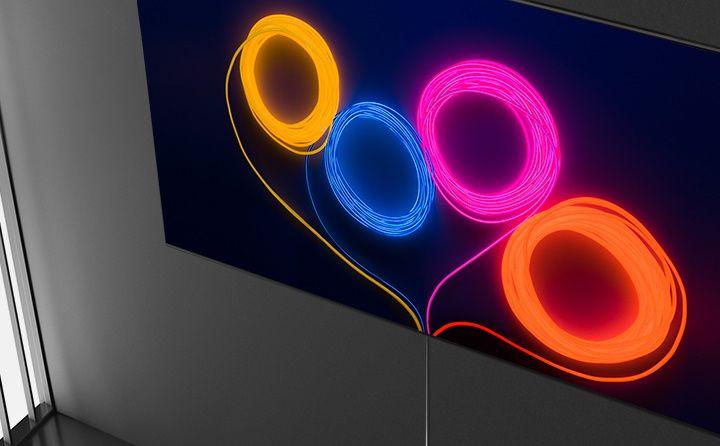samsung tv tv qled 2020 hdr 8k ідеальний дизайн зображення