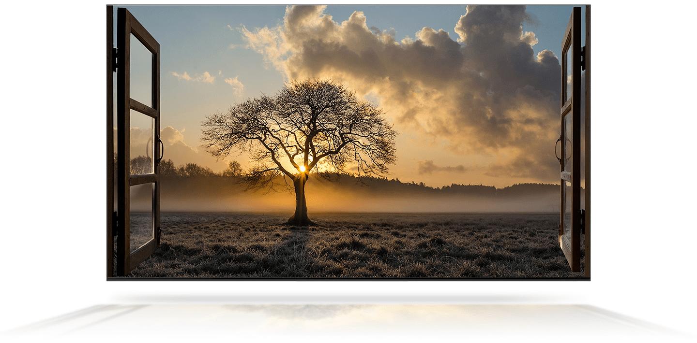 samsung tv televize qled 2020 hdr 8K perfektní obraz kontrast detail