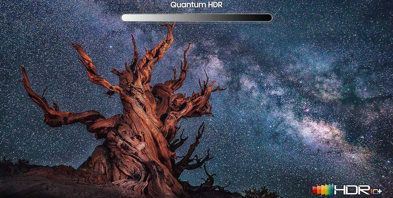 samsung tv televize qled 2020 hdr 8K Quantom Dot 100% barevný objem