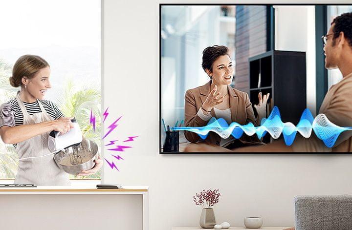 samsung tv televize qled 2020 hdr 8K perfektní obraz zřetelné dialogy AVA