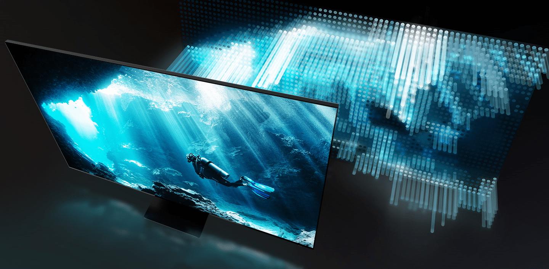 samsung tv televize qled 2020 hdr 8K perfektní obraz full array podsvícení