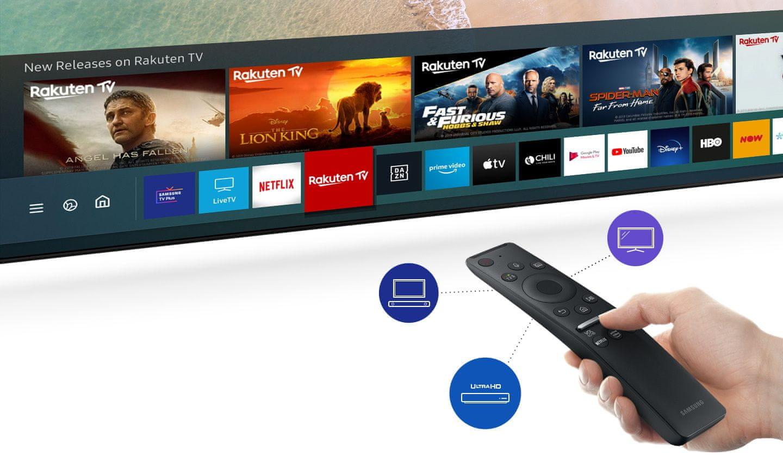 samsung tv televize qled 2020 hdr 8K perfektní obraz smart uživatelské rozhraní