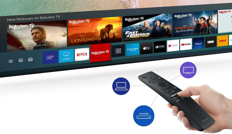samsung tv televizor qled 2021 hdr 4K, pametni uporabniški vmesnik