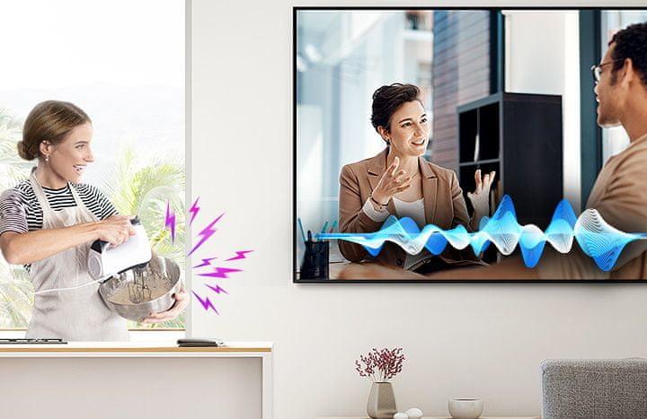 samsung tv televizor qled 2021 hdr 4K dialog AVA