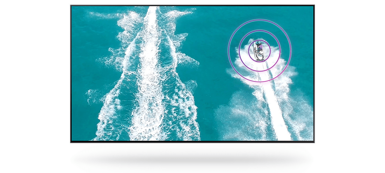 samsung tv televize qled 2020 4K OTS zvuk