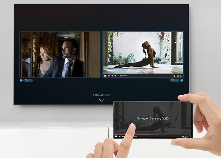 samsung tv televize qled 2020 4K zrcadlení
