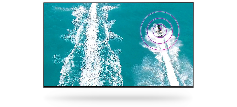 samsung tv televize qled 4K 2020 zvuk OTS