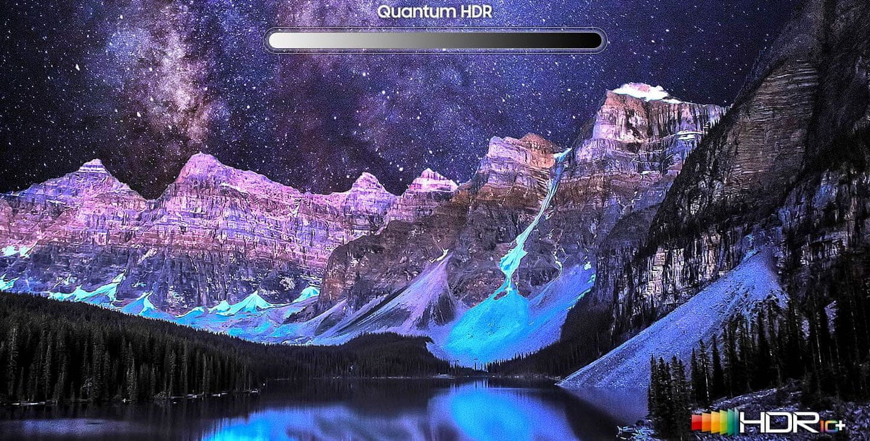samsung tv qled 4K 2020 Quantum Dot 100% цветовой охват