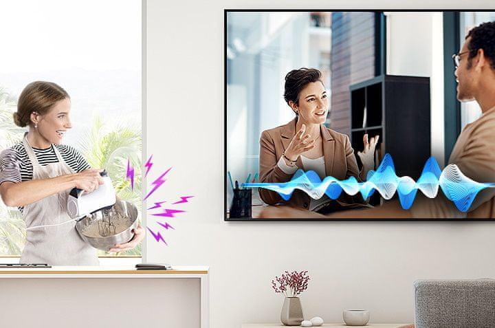 samsung tv televize qled 4K 2020 AVA dialogy