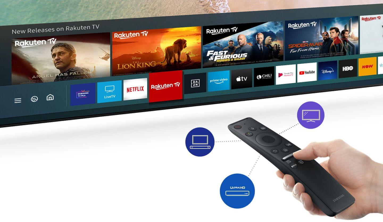 samsung tv televize qled 2020 SmartHub jednoduché ovládání